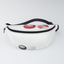 Funny Snooker Sayings Blood, sweat & Snooker Fanny Pack