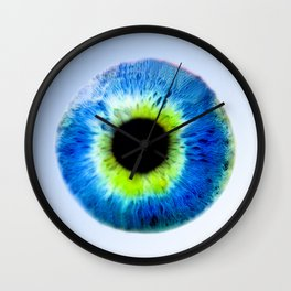 Damn your Eyes Wall Clock