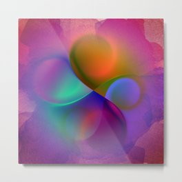 crossing colors -a- Metal Print