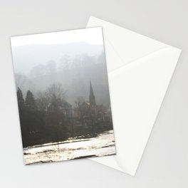 Town on the Valley Stationery Cards