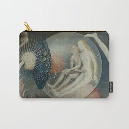 THE GARDEN OF EARTHLY DELIGHTS (detail) - HIERONYMUS BOSCH Carry-All Pouch