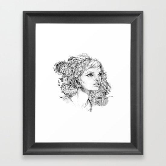 It Takes Over Framed Art Print