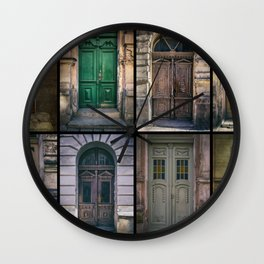 Twelve gates of my hometown Wall Clock