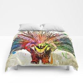 Porcupine Grunge Comforters