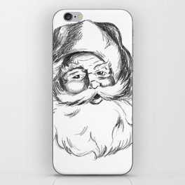 Jolly St. Nick iPhone Skin