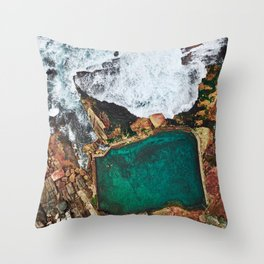 Summer Vibes Throw Pillow