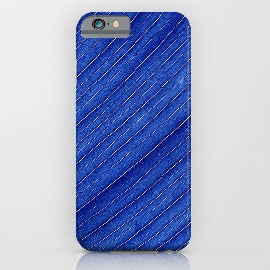 blue leaf II iPhone & iPod Case
