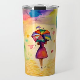 Raining Colors Travel Mug