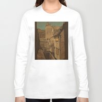 agnes Long Sleeve T-shirts featuring Dusk by Megs stuff