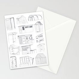 COVER, Contain, Compost - 3 of 3 Stationery Cards