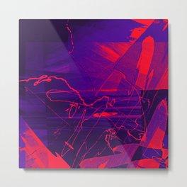 Visual 1 Metal Print