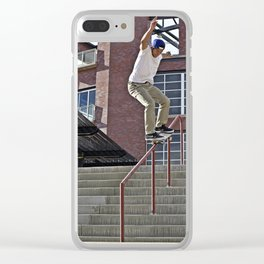 50-50 Clear iPhone Case
