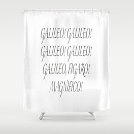 Galileo Figaro Shower Curtain
