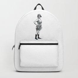 1920s Bathing Beauty Backpack