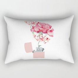 Fire destroys, fire creates Rectangular Pillow
