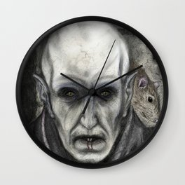 Orlok the Plaguebringer Wall Clock