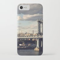 gotham iPhone & iPod Cases featuring Gotham by Michael Dulle