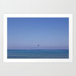 Paradise beach Art Print