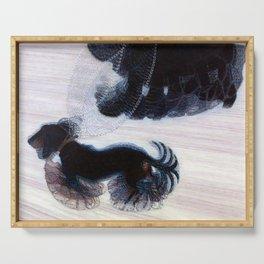 Giacomo Balla Dynamism of a Dog Serving Tray