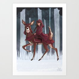 Whitefoot Art Print