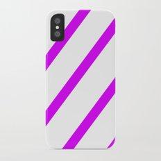 Purple iPhone X Slim Case