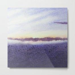 Sunrise # 1 / Watercolor Painting Metal Print