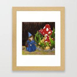 A LOVELY WALK Framed Art Print