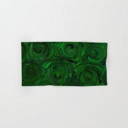 Emerald Green Roses Hand & Bath Towel