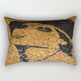 How Many More Men??? Rectangular Pillow