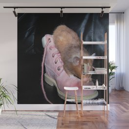 The Old Hamster in the Shoe Wall Mural