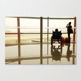 internacionalni aerodrom  Canvas Print