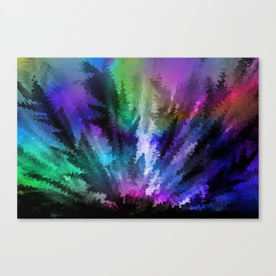Rainbow colors. Canvas Print