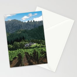 Napa Valley - Far Niente Winery, Oakville District Stationery Cards