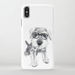 Nerdy Schnozz iPhone Case