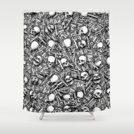 Root Of All Evil Shower Curtain