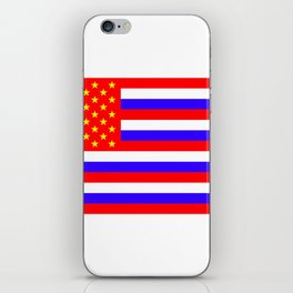 The New flag for the USA (Putin approved) iPhone Skin