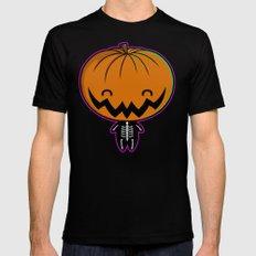 Cutie Pumpkin Pie Mens Fitted Tee MEDIUM Black