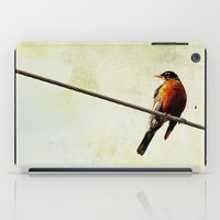 robin hood iPad Cases featuring Robin by Beverly LeFevre