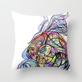 Fish2 Throw Pillow