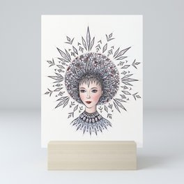 Snow Maiden Mini Art Print