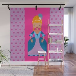 French Romantic Queen Wall Mural