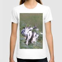 goat T-shirts featuring Goat by Jessie Prints Stuff