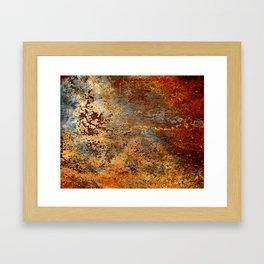 Beautiful Rust Framed Art Print