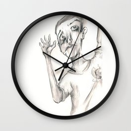 Heads Up Chins Up  Wall Clock