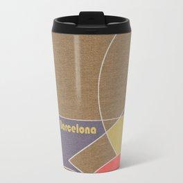 Barcelona Mosaic Travel Mug
