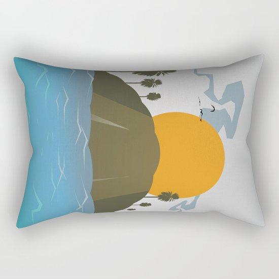 Tropic storm is coming Rectangular Pillow