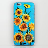 sunshine iPhone & iPod Skins featuring SUNSHINE by Jordan Soliz