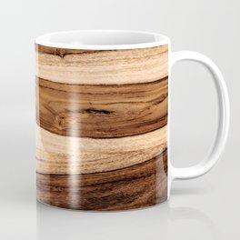 Sheesham Wood Grain Texture, Close Up Coffee Mug