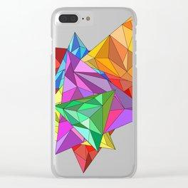 Triangular Clear iPhone Case