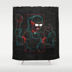 Hardware Shower Curtain